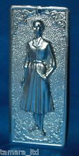 "Tama Ex Voto "" Woman "" Greek Russian Orthodox Icon Embossed Metal Plaque-TM-003-"