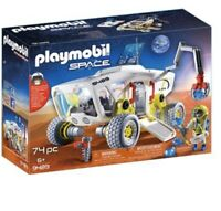 PLAYMOBIL Space Mars Research Vehicle & Goodman - 9489 - (NEW)
