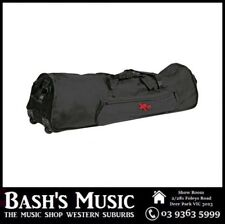 """Xtreme 48"""" Extra Heavy Duty Drum Hardware Bag with Wheels Fits Drum Racks"""