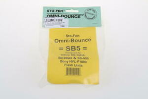 STO-FEN Omni-Bounce Blitzdiffusor für Nikon und Sony Blitzgeräte