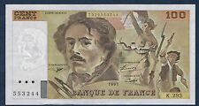 FRANCE - 100 FRANCS DELACROIX Fay n° 69bis. 2c de 1995. en SUP   K.293 553244