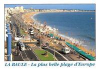 France La Baule Loire Atlantique La plus belle plage d'Europe Promenade Cars