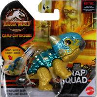 """Jurassic World Snap Squad ~ 2.5"""" ANKYLOSAURUS BUMPY (METALLIC) Action Figure"""