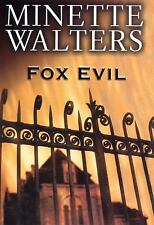 Fox Evil by Minette Walters (2003, Hardcover)