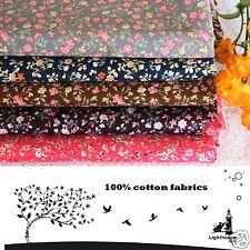 """Cotton Fabric Vintage Floral 100% Cotton 59"""" Width"""