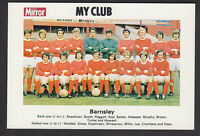 Daily Mirror - My Club Redemption Card 1971 - Barnsley
