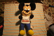 Vintage 80's Happy Birthday Mickey California Stuffed Toys Walt Disney Prod.