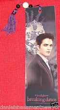 The Twilight Saga Breaking Dawn Part 1 Edward Bookmark With Tassel NECA **NEW**