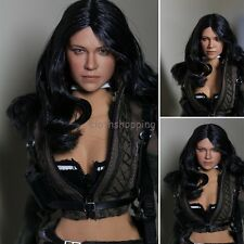 """1/6 Scale US Actress Female Doll Michelle Rodriguez Head Sculpt For 12"""" Hot Toys"""