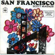 """SCOTT McKENZIE SAN FRANCISCO WHAT'S THE DIFFERENCE 7"""" ITALY 1967 M-"""