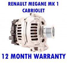 RENAULT MEGANE CABRIOLET MK1 MK I 1999 2000 2001 2002 2003 ALTERNATOR