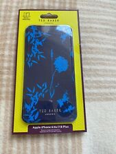 Lovely Ted Baker Blue Floral Folio Case Iphone 6 6s 7 8 Plus Models
