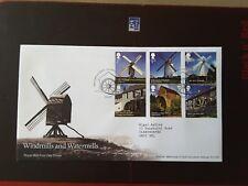 GB 2017 Windmills & Watermills FDC Old Mill, Callington Pmk