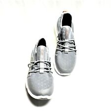 Sperry Top-Sider 7 Seas Bungee Women 10 41 Sneakers Shoes Slip On Gray NEW