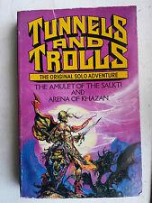 Amulet of the Salkti & arena of khazanTunnels And Trolls solo's Corgi T&T book