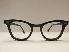Art Craft USA Black Rare Vintage Eyeglasses Frames only 46 22 145