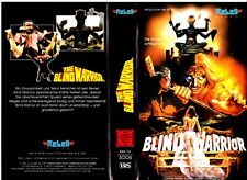 """VHS - FSK 18 - """" Blind WARROR """" (1985) - Harry Capri - Debby Lorence"""