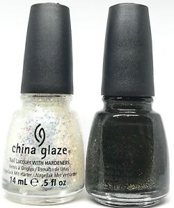 China Glaze Nail Polish Make A Spectacle 1135 + Cast A Spell 1136 Wicked Collec