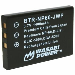 Wasabi Power Battery for Kodak KLIC-5000