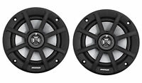 "Pair Kicker 42PSC654 PSC65 6.5"" 240 Watt Motorcycle/ATV/UTV/RZR Marine Speakers"