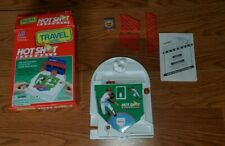 Vintage Milton Bradley Travel Hot Shot Baseball 1994 Travel Game COMPLETE
