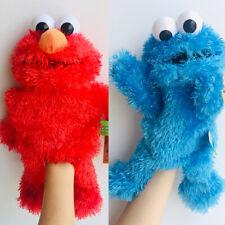 Sesame Street Elmo's Cute Plush Hand Puppet New Performance Toys Plush Toys