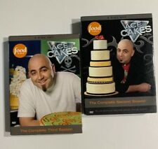ACE OF CAKES THE COMPLETE SECOND & THIRD SEASON 3 NEW 3 DISC DVD SET