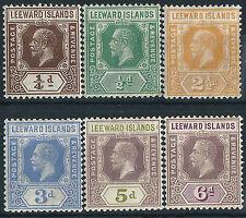 George V (1910-1936) Postage Leeward Islands Stamps