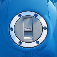 Pro-Bolt Alu Tapa De Combustible Kit TRIUMPH Tiger Azul Triumph Street Triple 675 07-16