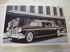1955 CHRYSLER  IMPERIAL  11 X 17  PHOTO   PICTURE