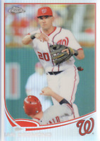 2013 Topps Chrome Baseball Refractor #181 Ian Desmond Washington Nationals