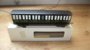 AS voiture voyageurs  PLM 3 ème classe échelle O compatible JEP HORNBY GMP BLZ