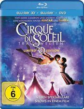 CIRQUE DU SOLEIL, Traumwelten (Blu-ray 3D + Blu-ray Disc + DVD) NEU+OVP