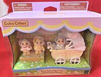 Calico Critters ~ Darling Ducklings Baby Carriage
