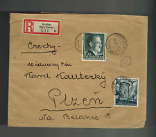 1943 Kielce Poland Germany GG cover to Posen