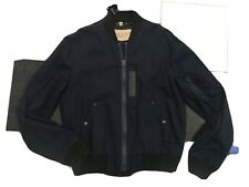 NWT 100% AUTH Burberry Men's Cotton Bomber Jacket Sz L $695