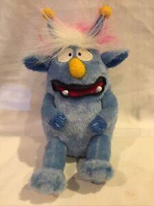 41) Gemmy Mitch Monster Maniacs Blue Plush Sings Mahna Mahna/Happy Birthday RARE