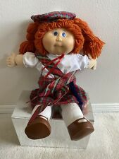 Cabbage Patch Dolls Orange Hair With Scotland Outfit