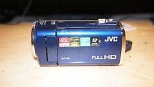 Jvc Gz-E100 Camcorder - Blue