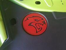 Hellcat radiator cover metal art plasma cut