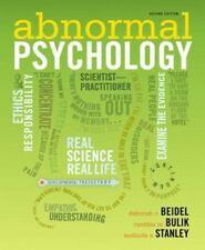 Abnormal Psychology by Cynthia M. Bulik, Melinda A. Stanley and Deborah C....
