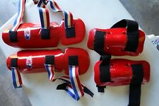 Youth Sparring Gear for Karate Taekwondo Children with bag 7-piece Set