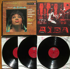 SER 4538-40 Verdi Aida Price Vickers Solti RCA Living Stereo ED1 3xLP VERY GOOD