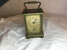 # pendule d'officier, réveil de voyage. French carriage clock