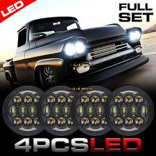 "DOT 4X 80W 5.75"" 5-3/4 inch Led Headlight for 1963-1982 Chevy GMC Corvette C1 C2"