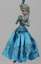 Disney Store Frozen Elsa 2014 Sketchbook Christmas Holiday Tree Ornament NWT