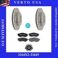 VBS44004 Verto USA Brake Pad Sensor Wire Rear fits 95-00 Lexus LS400