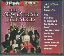 Music CD New Christy Minstrels 36 All-Time Folk Favorites 3 Disc Set