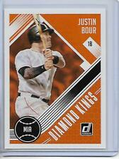 2018 Donruss Justin Bour Diamond Kings Card