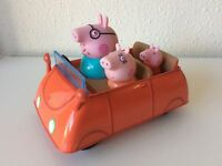 """PEPPA PIG CAR with figures, Non-electronic 7"""" version"""